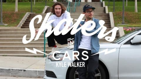 Skaters In Cars: Kyle Walker - Part 1 | X Games - X Games