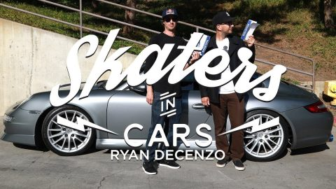 Skaters In Cars: Ryan DeCenzo | X Games | X Games