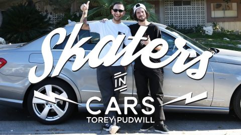 Skaters In Cars: Torey Pudwill   X Games - X Games