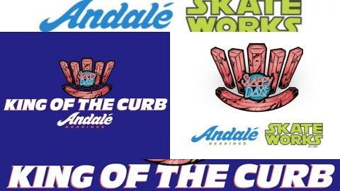 Skateworks X Andale King Of The Curb | Andale Bearings