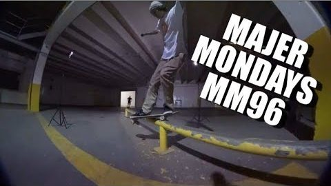 SKATING ABANDON WAREHOUSE, RIP MAC MILLER MM96 | MAJER Crew