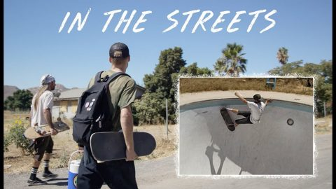 Skating Abandoned Pools In Southern California | In The Streets | The Berrics
