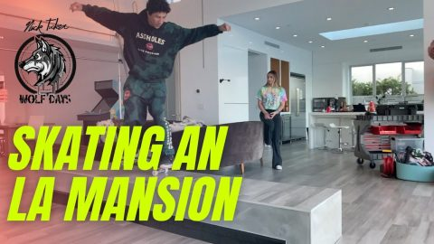 Skating An LA Mansion (CRAZY) featuring Kirill From ASSHOLESLIVEFOREVER | NICKTUCKER