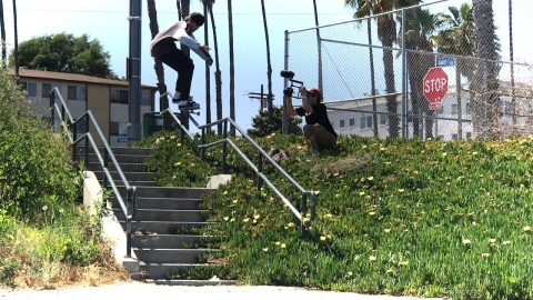 SKATING CRAZY RAILS WITH MALIQUE SIMPSON !!! - NKA VIDS - | Nka Vids Skateboarding