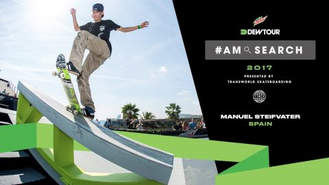 Skating for The Thrill of It | Manuel Stiefvater Interview - Dew Tour