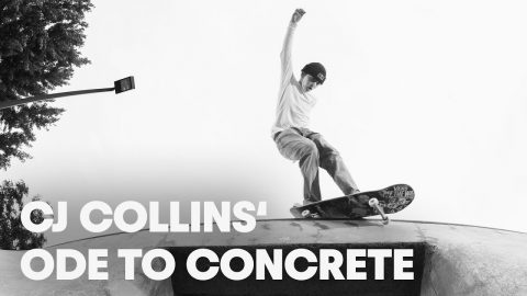 Skating Oregon's Finest Custom Parks /w CJ Collins. | Ode to Concrete | Red Bull