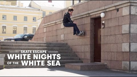 Skating Russia's North with Gabriel Summers, Max Kruglov & Friends | SKATE ESCAPE | Red Bull Skateboarding