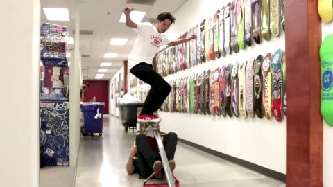 SKATING THE ELEMENT OFFICE - Chris Chann