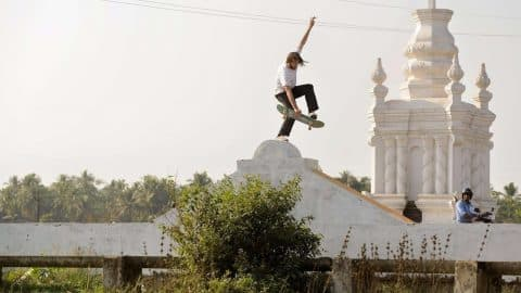 Skating the Wild Streets of India | The Curry Connection EP 1 - Red Bull