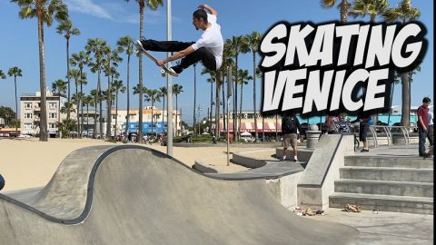 SKATING VENICE WITH THE BROS & MUCH MORE !!! - NKA VIDS - | Nka Vids Skateboarding