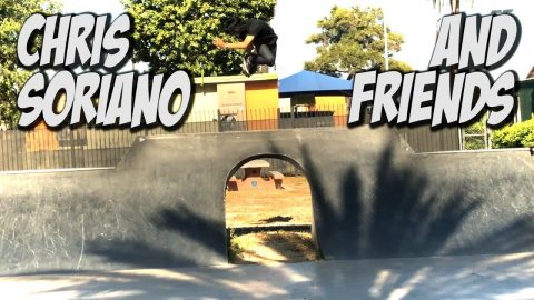 SKATING WITH CHRIS SORIANO, JOEL PEREZ & FRIENDS !!! - NKA VIDS - - Nka Vids Skateboarding