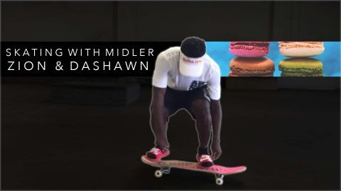 Skating with Midler, Zion & Dashawn - Mikey Taylor