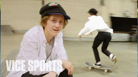 Skating with Olympic Gold Medalist Red Gerard - VICE Sports