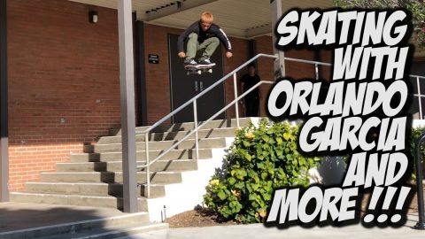 SKATING WITH ORLANDO GARCIA AND FRIENDS !!! - NKA VIDS - | Nka Vids Skateboarding