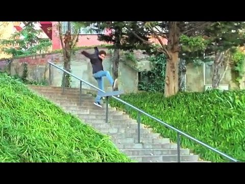 Sketchy Barcelona 24 Rail Feeble Grind Battle  - Behind the Clips - Adrien Bulard - Metro Skateboarding