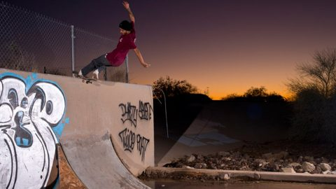 Skuff TV Skate | Team Z-Flex Shred Through Arizona | Skuff TV - Action & Extreme Sports Channel
