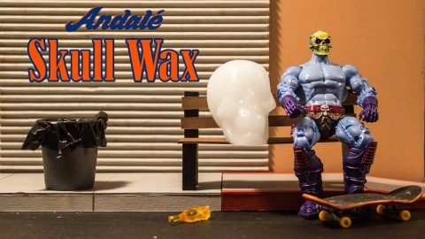 Skull Wax Session With Skeletor | Andale Bearings | Andale Bearings