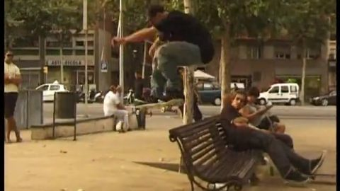 Slam City Skates: Rat Signal / Barca - Brooks