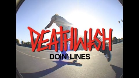 Slash - Doin Lines - Deathwish Skateboards
