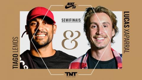 Slides & Grinds II - Tiago Lemos x Lucas Xaparral - Semi Final - sobreskate