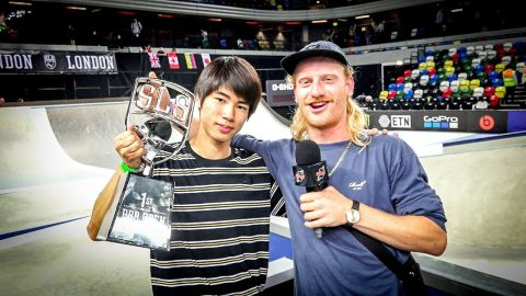 SLS London Pro Open Finals (Yuto Horigome, Nyjah Huston, Vincent Milou) - Flatspot Magazine