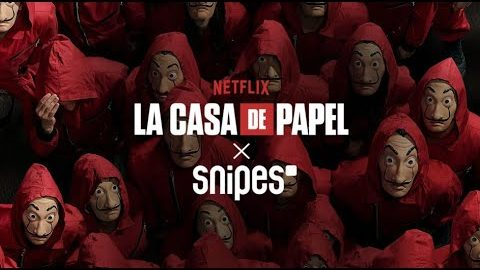 SNIPES Launches La Casa de Papel apparel collection | SNIPES