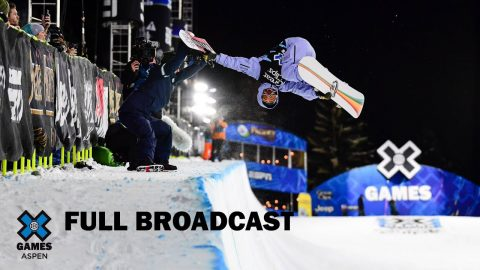 Snowboard SuperPipe Session: FULL BROADCAST | X Games Aspen 2020 | X Games