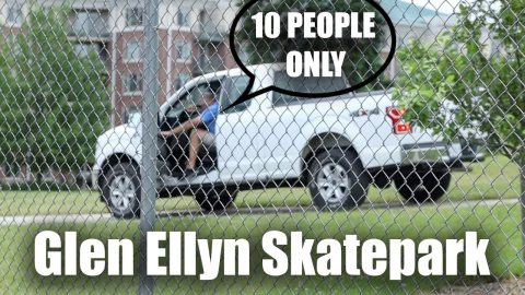 Socially Distant Skateboarding at Glen Ellyn Skatepark in 2020 | Max Williams