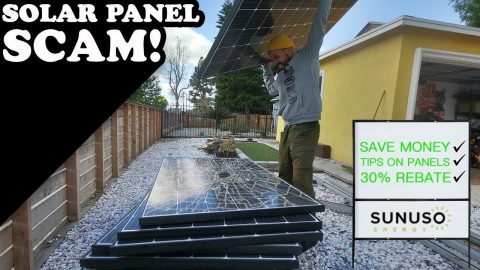 Solar Panel Scam!(HOW TO SAVE MONEY) | MannysWorld