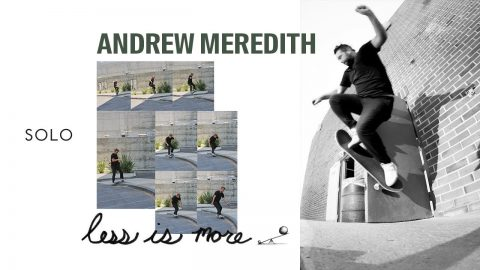 """SOLO: Andrew Meredith in """"Less is more"""" by Less Than Local 