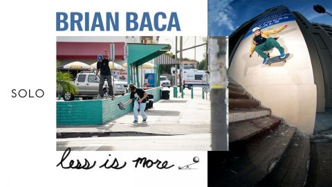 """SOLO: Brian Baca in """"Less is more"""" by Less Than Local 