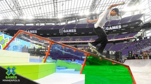 Sora Shirai qualifies first in M's SKB Street | X Games Minneapolis 2019 | X Games