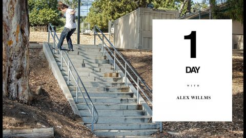 Spend a Day Barging Spots With Alex Wilms | The Berrics