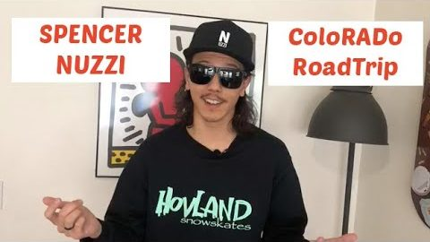 Spener Nuzzi Colorado RoadTrip (Skateboarding / Snowskate / Woodward / Rail Jam) | ihatespencernuzzi