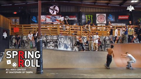 Spring Roll All Ages Contest 2019 | Skatepark of Tampa