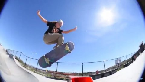 Steezy Logan Gets Pitted - Krux Trucks
