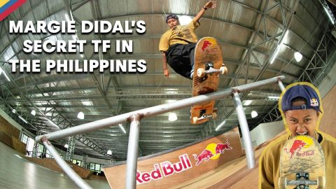 Step Inside Margie Didal's Secret Training Facility In The Philippines | Red Bull Skateboarding
