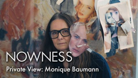 Step into collage artist Monique Baumann's studio in Zürich | NOWNESS