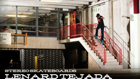 Stereo Skateboards: Lenard Tejada | Manual Magazine