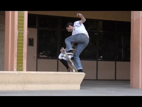 Steve Mull fs Crunt Fakie, Full Cab Off Drop Raw Uncut - E. Clavel