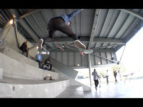 Steve Mull No Comply 180 Raw Uncut - E. Clavel