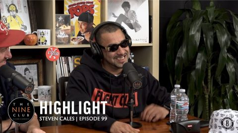 Steven Cales Talks About Getting Shot In The Face And Getting Sober | The Nine Club Highlights