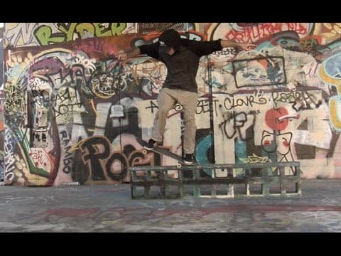 Steven Catizone Switch 180 to Krooks and Krook Nollie Flip Raw Uncut - E. Clavel
