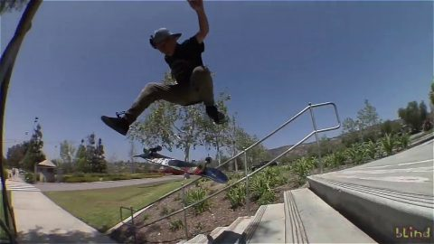 Steven Vasquez Raw Footage | Blind Skateboards