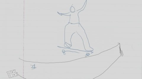 Stevie Williams Animation From 'The Reason' - TransWorld SKATEboarding