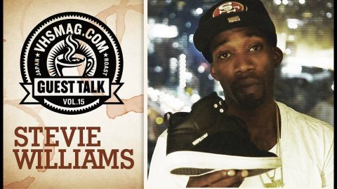 STEVIE WILLIAMS - GUEST TALK [VHSMAG] | vhsmag
