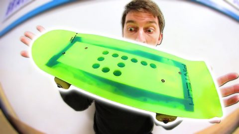 STRANGE ELECTRIC CYMBAL SKATEBOARD | YMIWSI Ep 180 - Braille Skateboarding