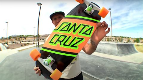 STREET SKATE CRUZER PRODUCT CHALLENGE w/ ANDREW CANNON! | Santa Cruz Skateboards | Santa Cruz Skateboards