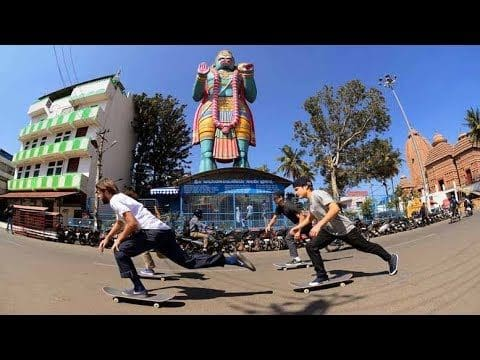 Street Skating and Dodging Tuks Tuks in Bangalore | The Curry Connection EP 2 - Red Bull