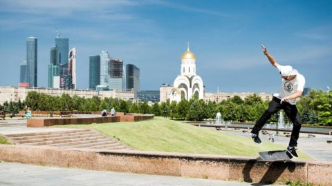 Street Skating on Perfect Moscow Marble | Skate of Mind: Russia Chapter 1 - Red Bull